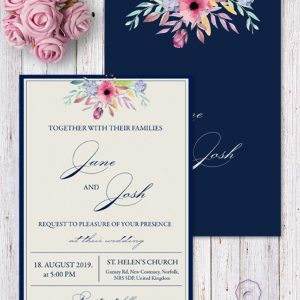 BLUE BELLE INVITATION