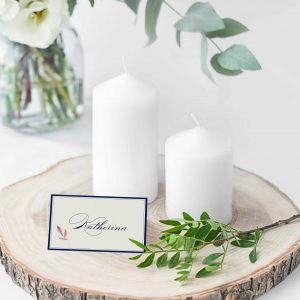 BLUE BELLE PLACE CARDS