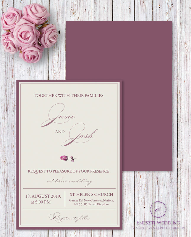 ISABELLE INVITATION