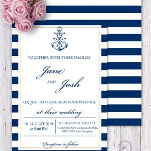 MARINE INVITATION