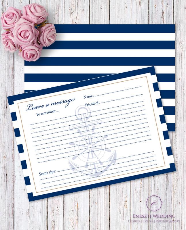 MARINE MESSAGE CARD