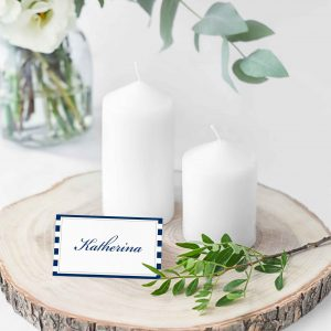MARINE PLACE CARDS