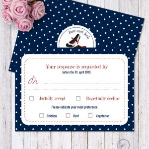 Rockabilly Blue RSVP