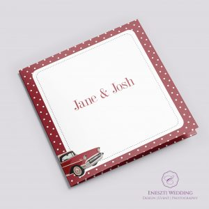 Rockabilly Red Invitation