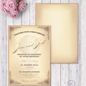 STEAMPUNK INVITATION