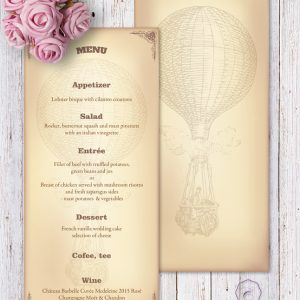STEAMPUNK - MENU